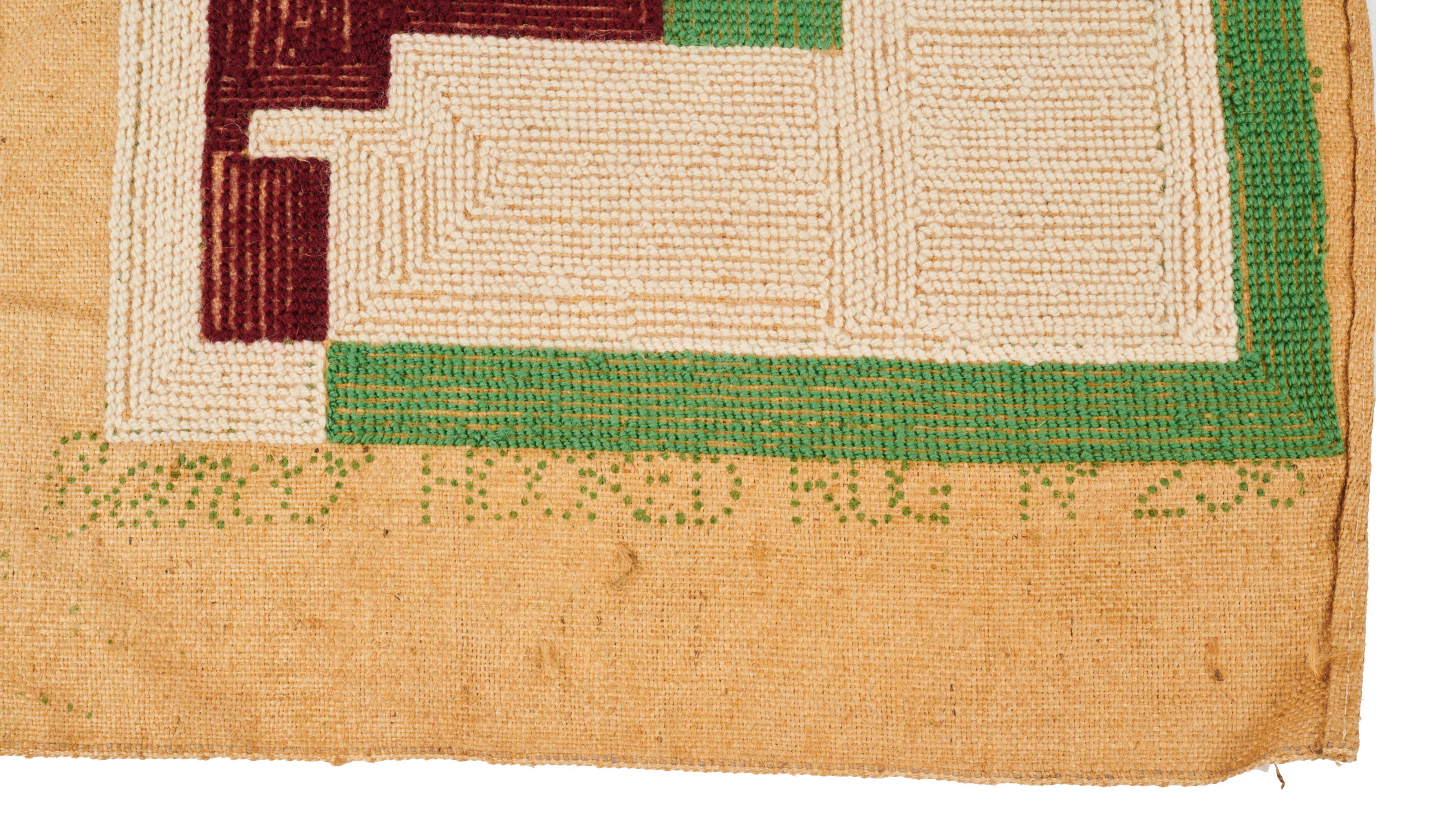 Coote rug 1940 Semco template