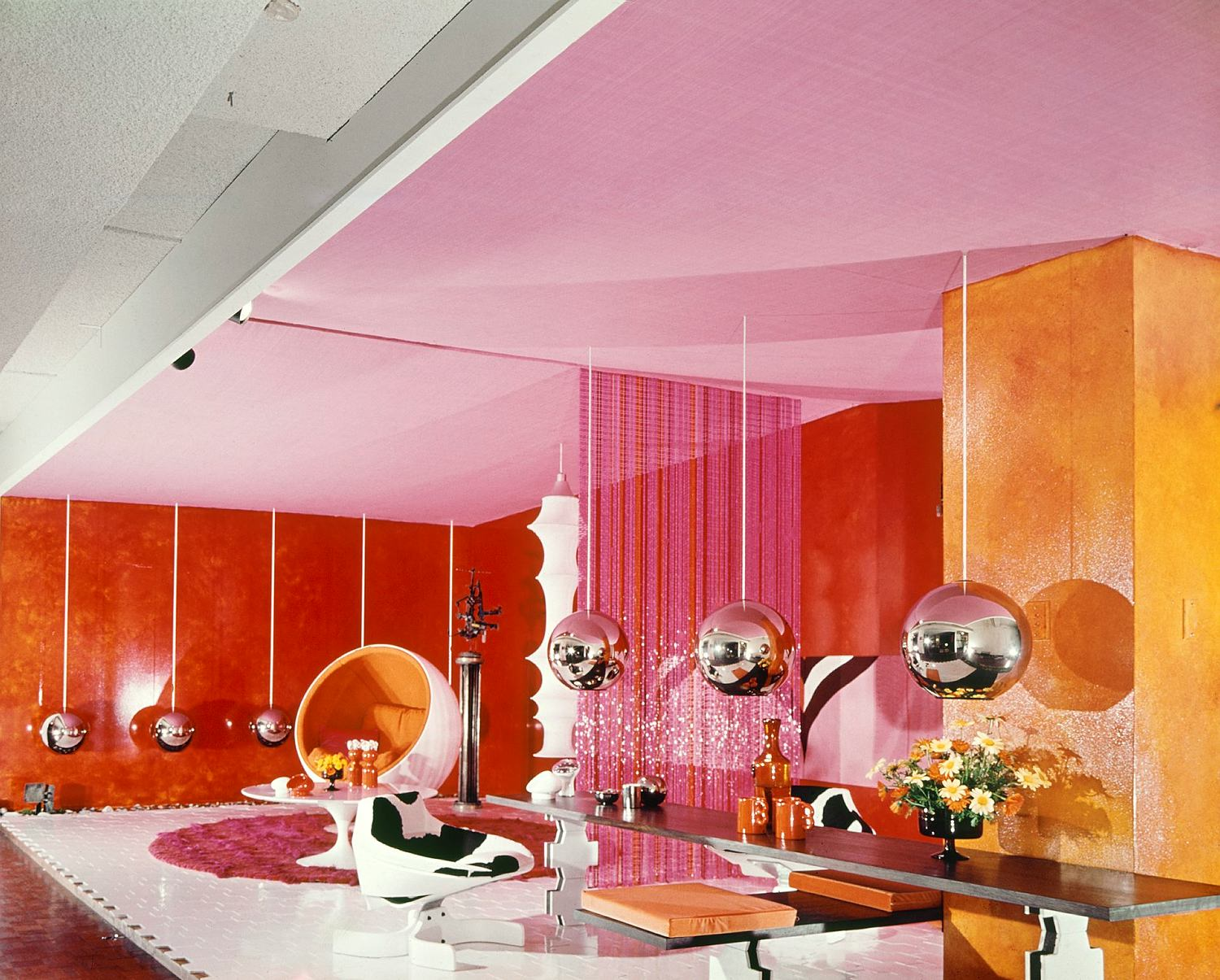 Marion hall best collection sydney living museums for Interior design 70s house