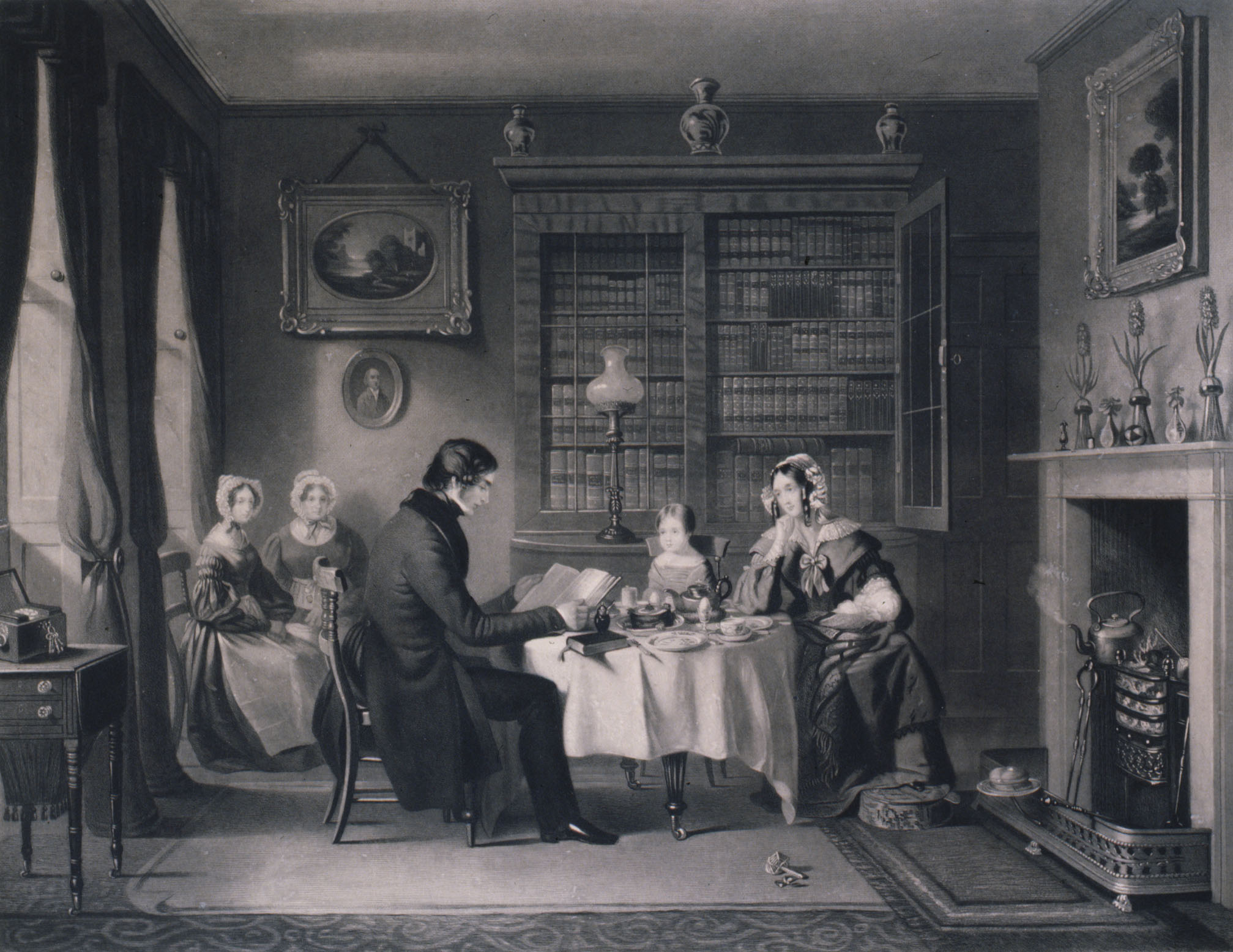 Family Devotions Morning 1841 Sydney Living Museums