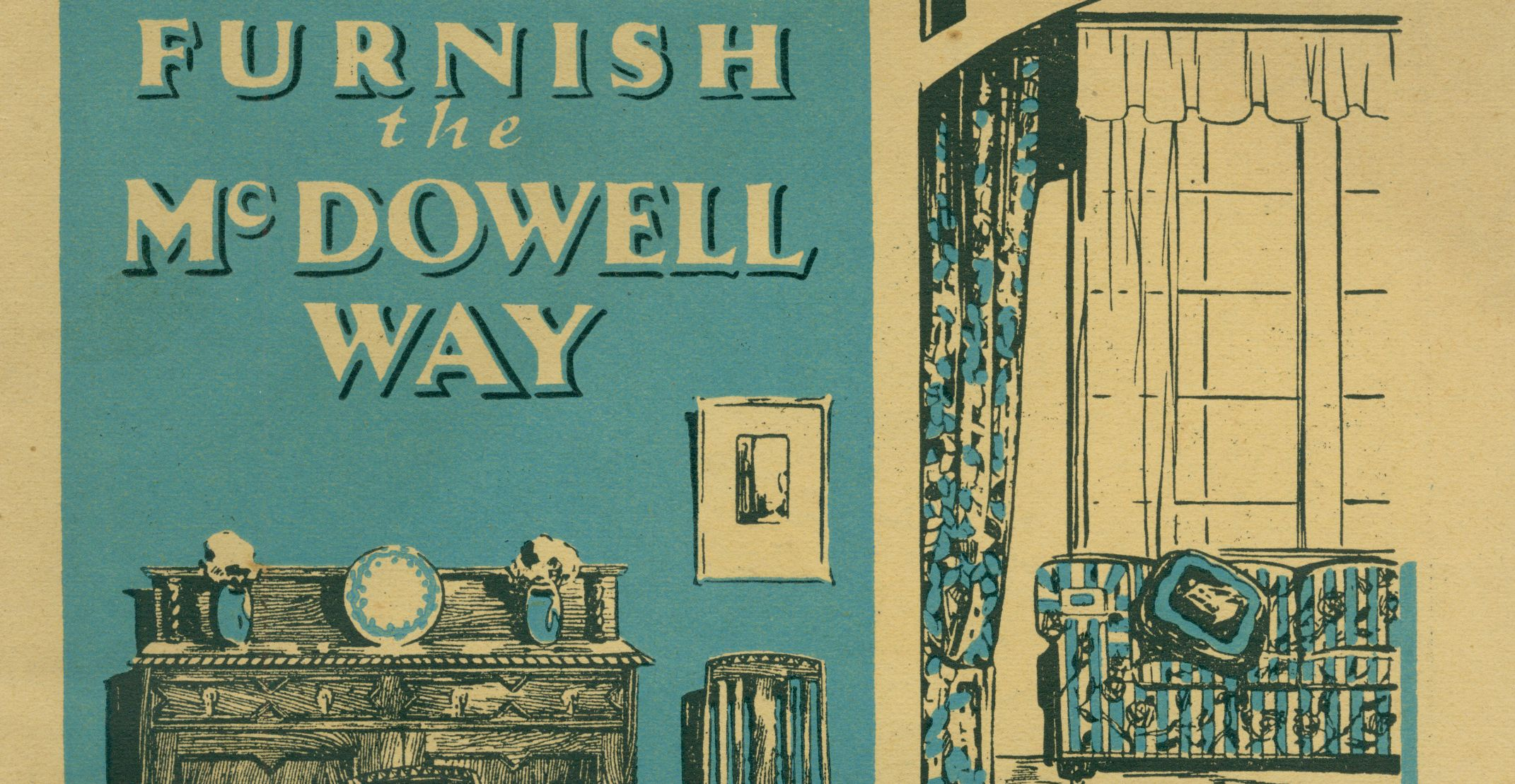 Front cover of McDowells' trade catalogue