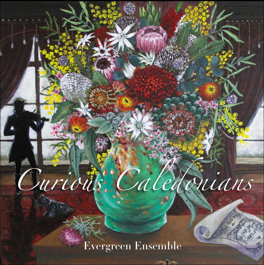 CD cover art of flowers in a vase.