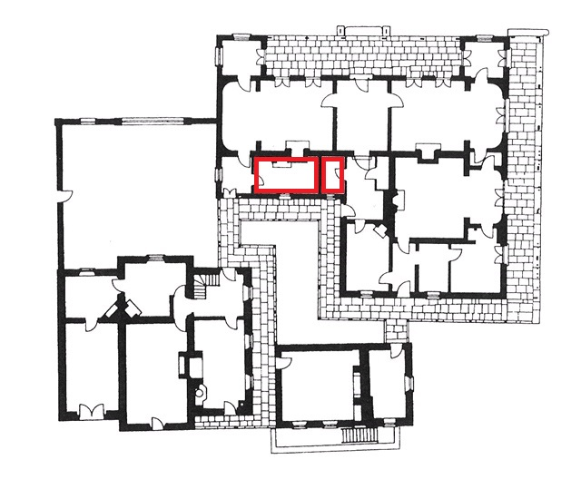 Floor plan of buildings