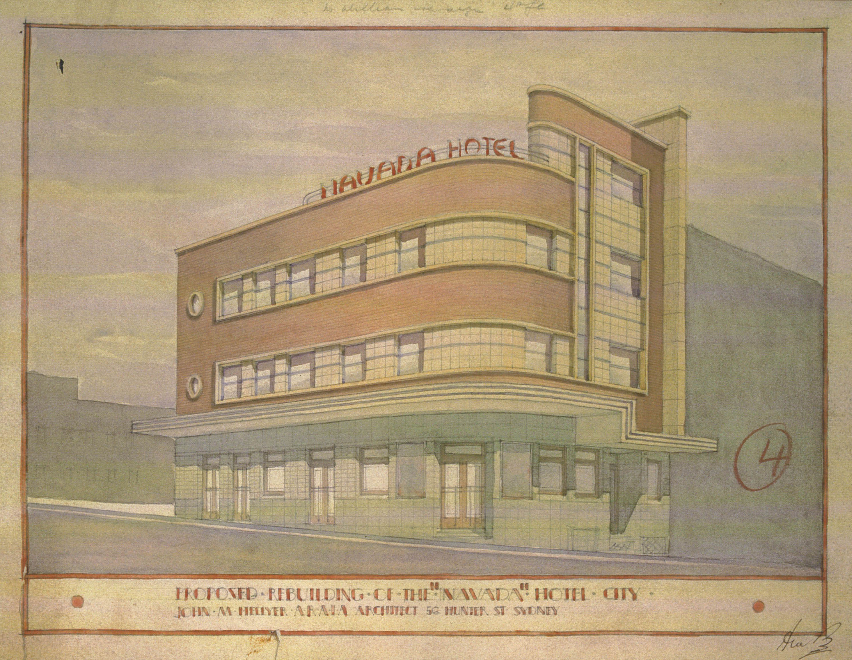 Sydney s pubs liquor larrikins the law sydney living for Full size architectural drawings
