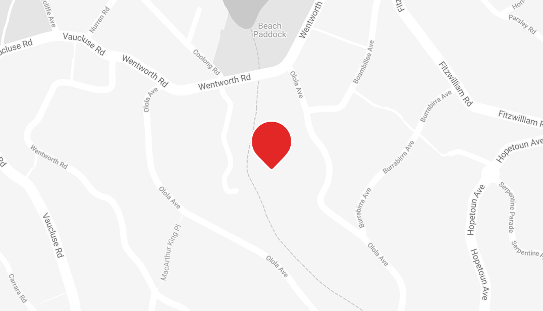 Location of Weddings at Vaucluse House on map