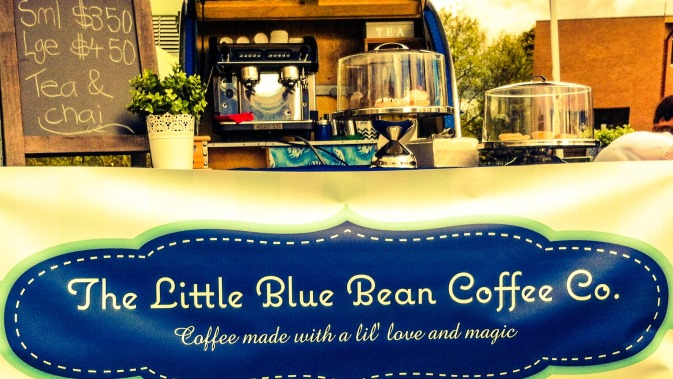 Image of coffee cart