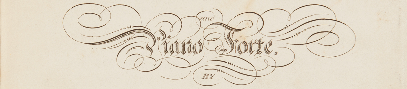 Title page from 'Family Hymns', sheet music composed by J. F. Burrowes, published circa 1839-1845 by Francis Ellard, Sydney.