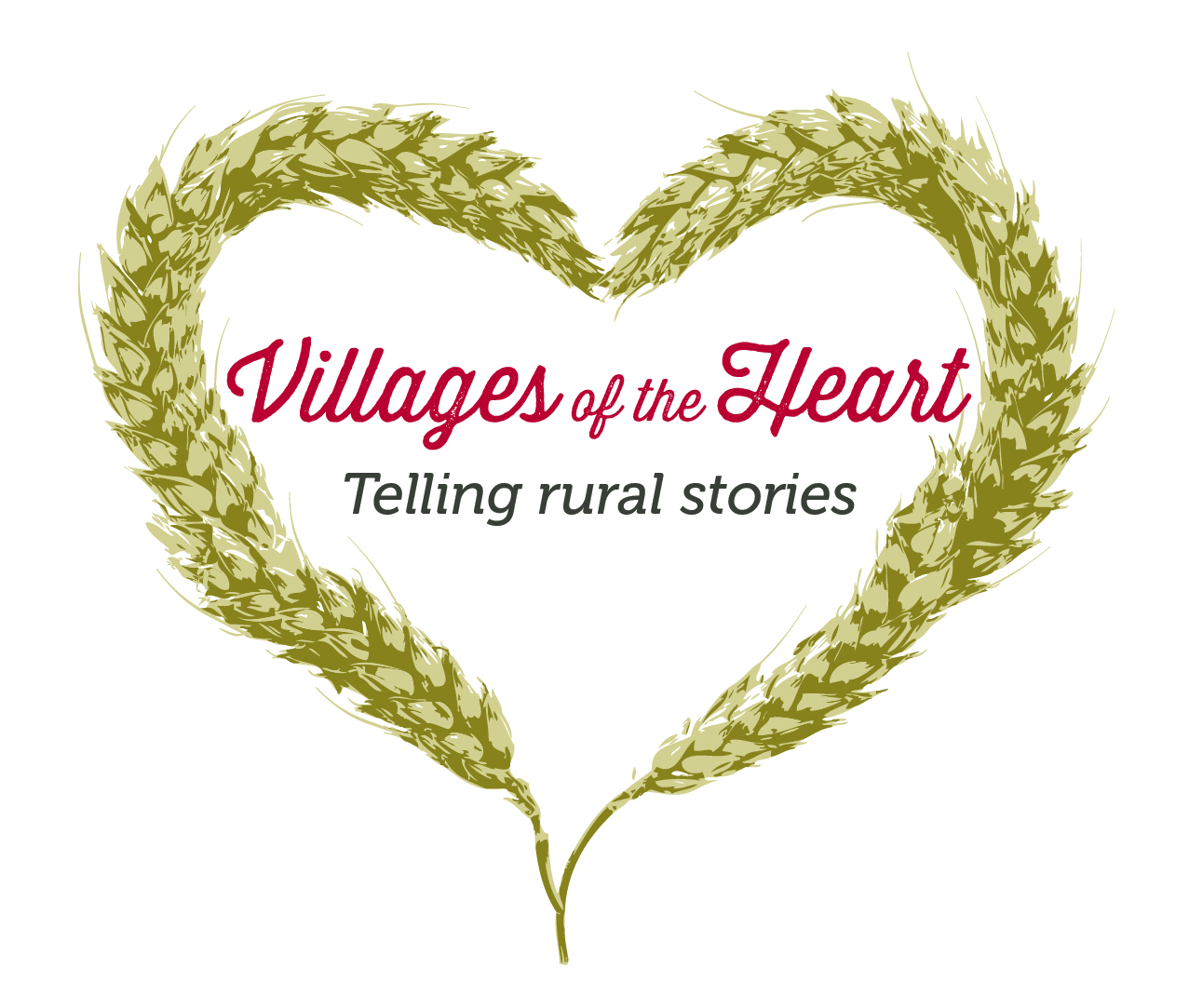 Logo: Villages of the Heart.
