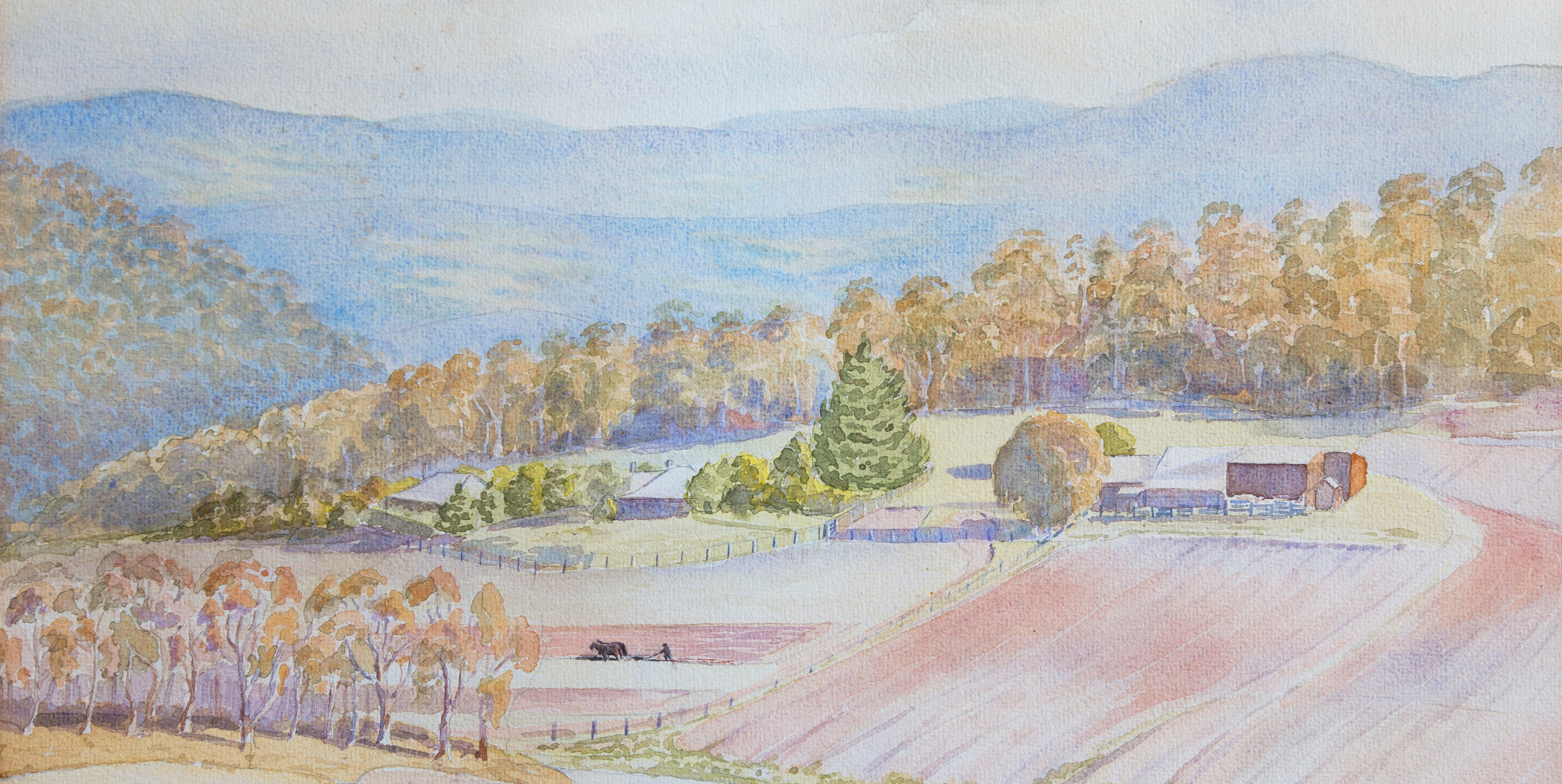 Watercolour of Warrawang