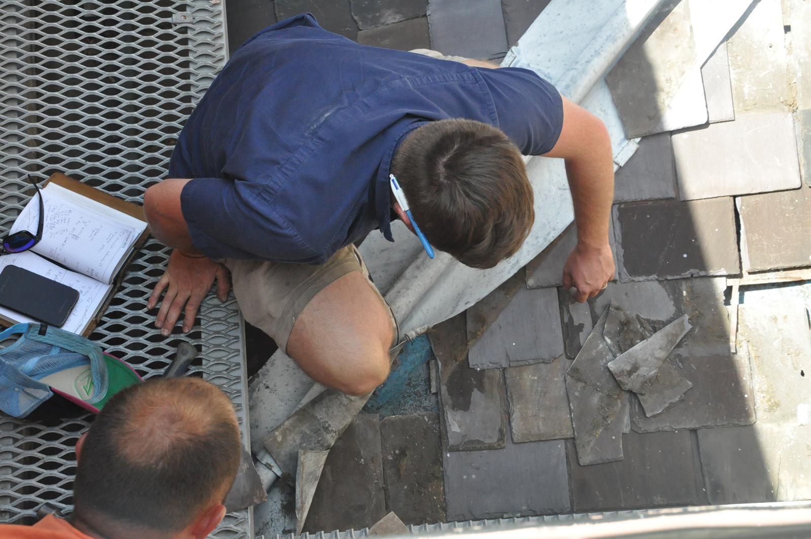 Slate Roof Repairs At Justice Amp Police Museum Sydney