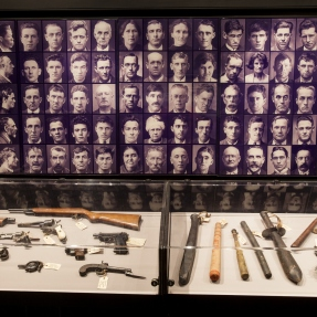 Photograph of exhibtion display at Justice & Police Museum.