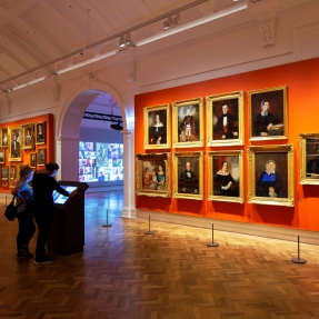 Western wing gallery at the State Library of NSW
