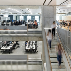 Arup offices at Barrack Place, Event space L6.