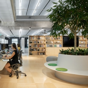 Arup University L3 at Arup's offices at Barrack Place, Sydney.
