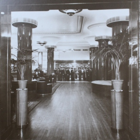 Historical photograph of the City Tattersalls Club, Sydney's Lower Bar