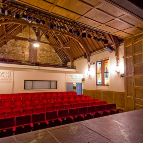 Genesian Theatre Company, View of the auditorium from the stage.