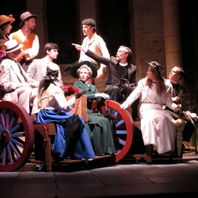 Production photo from a recent Genesian production 'A Room With a View.'