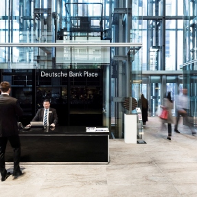 Deutsche Bank Place, lobby.