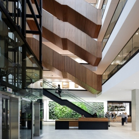 The University of Sydney F23 Administration Building, interior.
