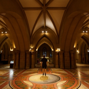 St Mary's Cathedral, Crypt taken during Sydney Open 2018.