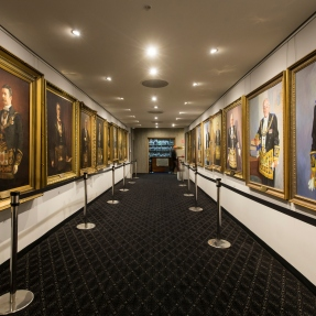 The Sydney Masonic Centre's Grand Masters Gallery.