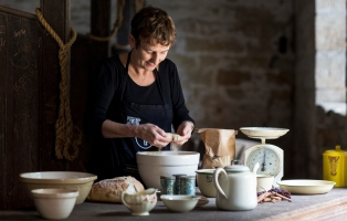 Women baking at Vaucluse House