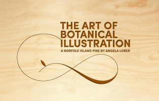 Logo design of The Art of Botanical Illustration Florilegium film