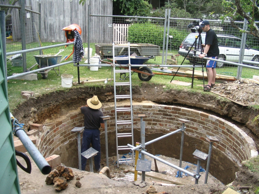 Underground ruin now supplies water | Sydney Living Museums