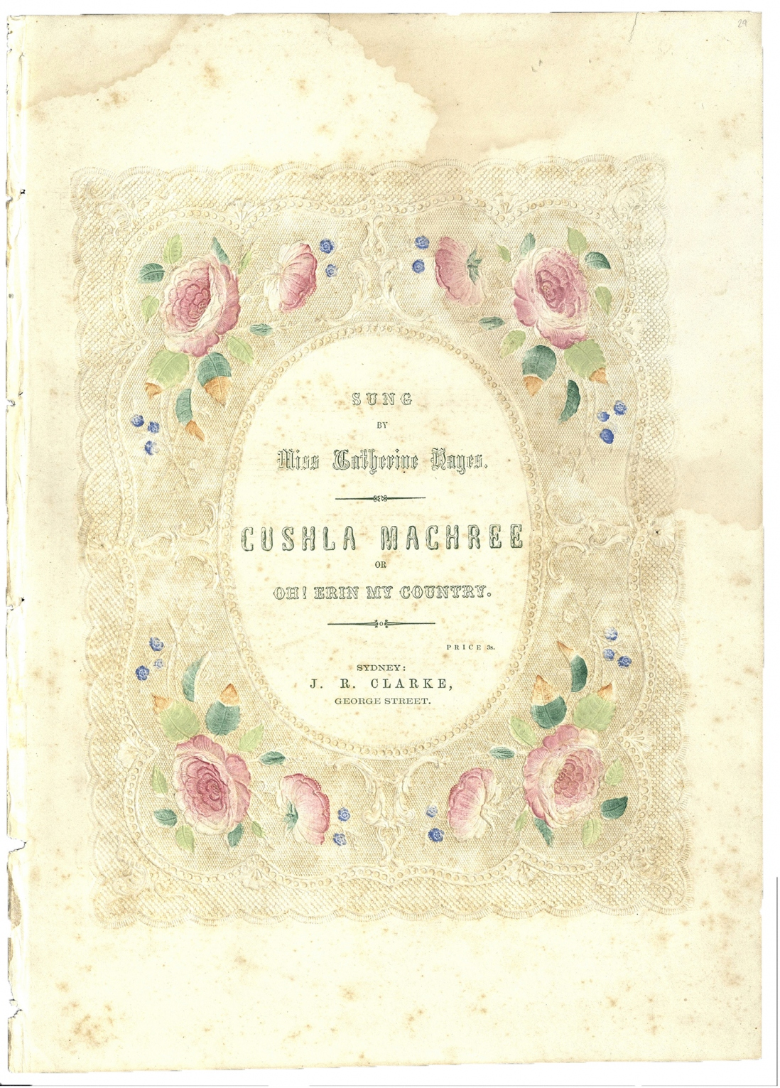 Cushla Machree sheet music
