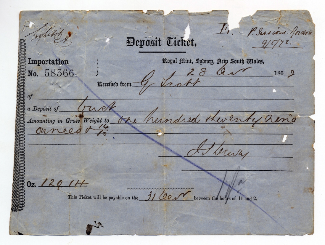 Handwritten form with signature.