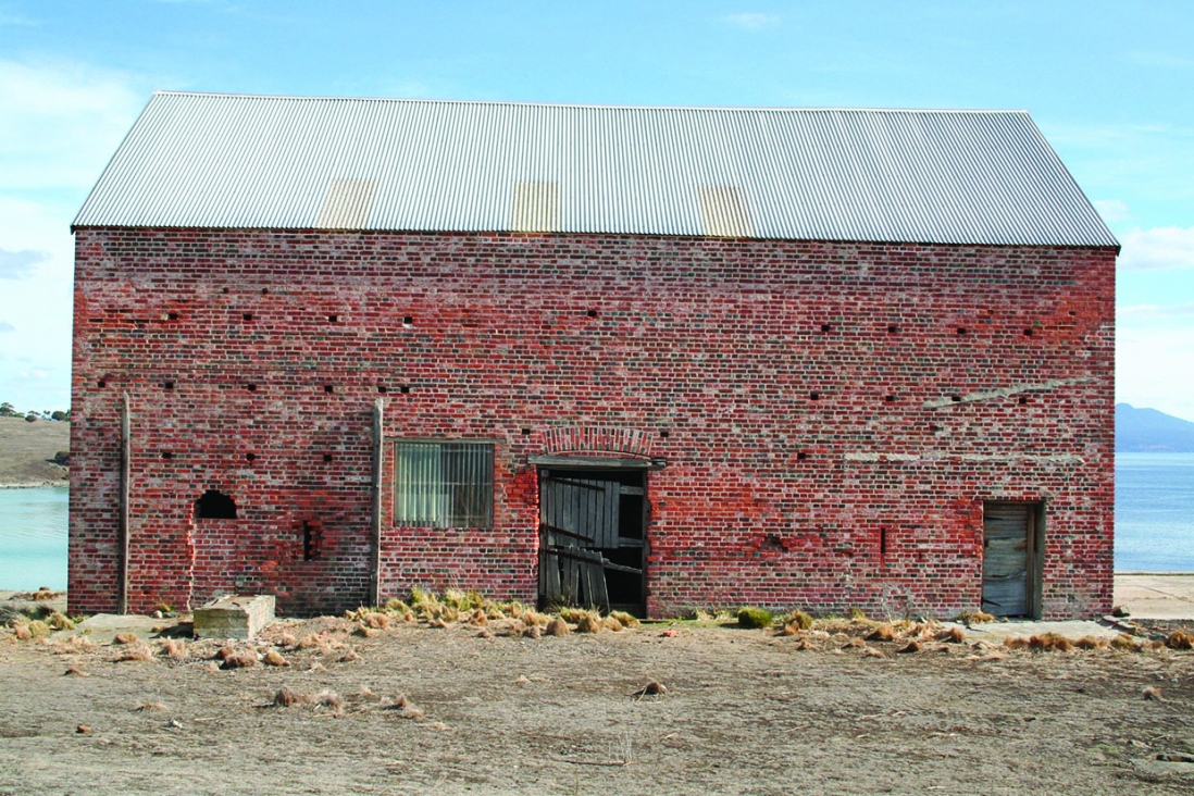 Old farm building.
