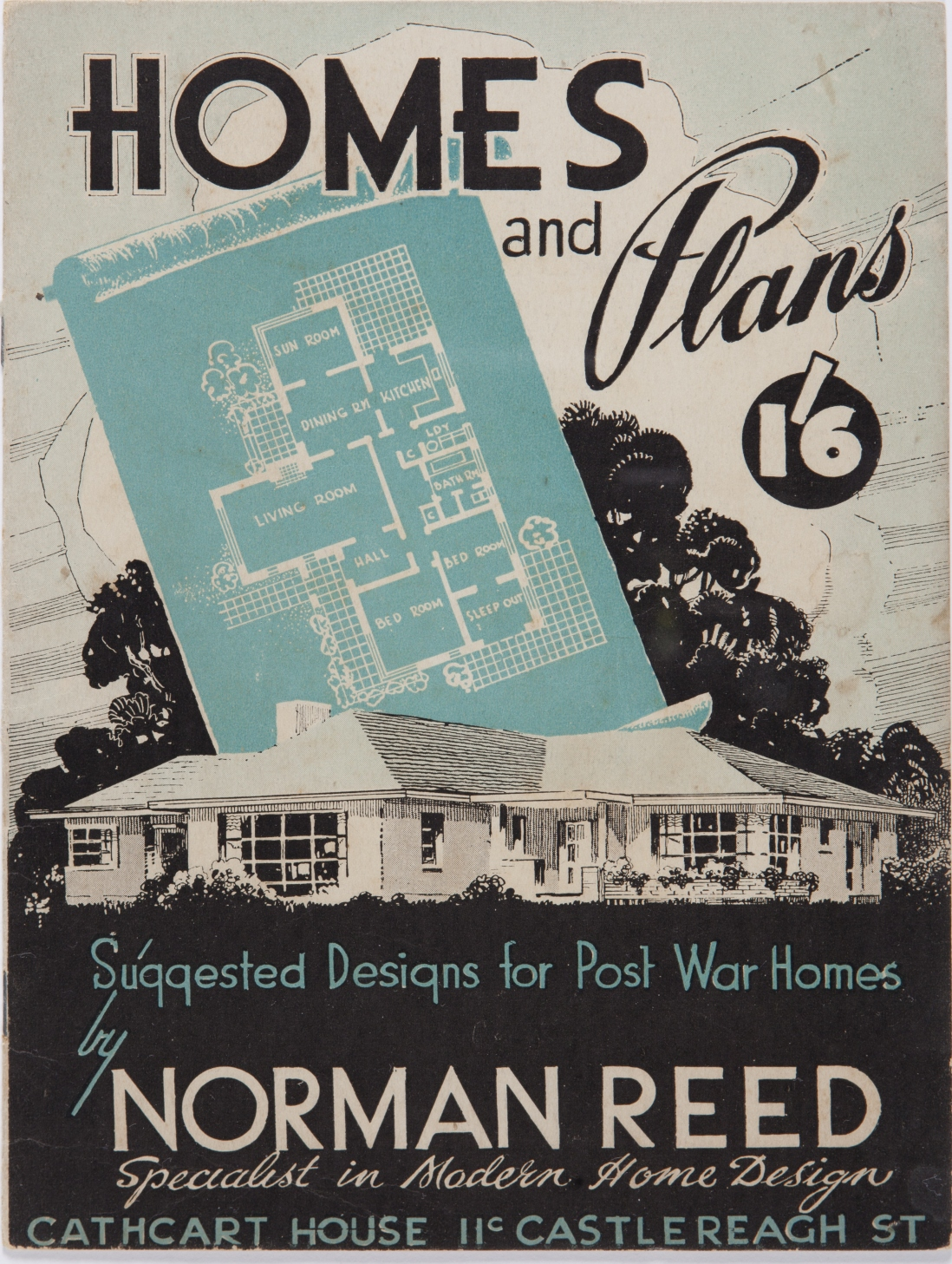 post-war sydney home plans, 1945 to 1959 | sydney living museums