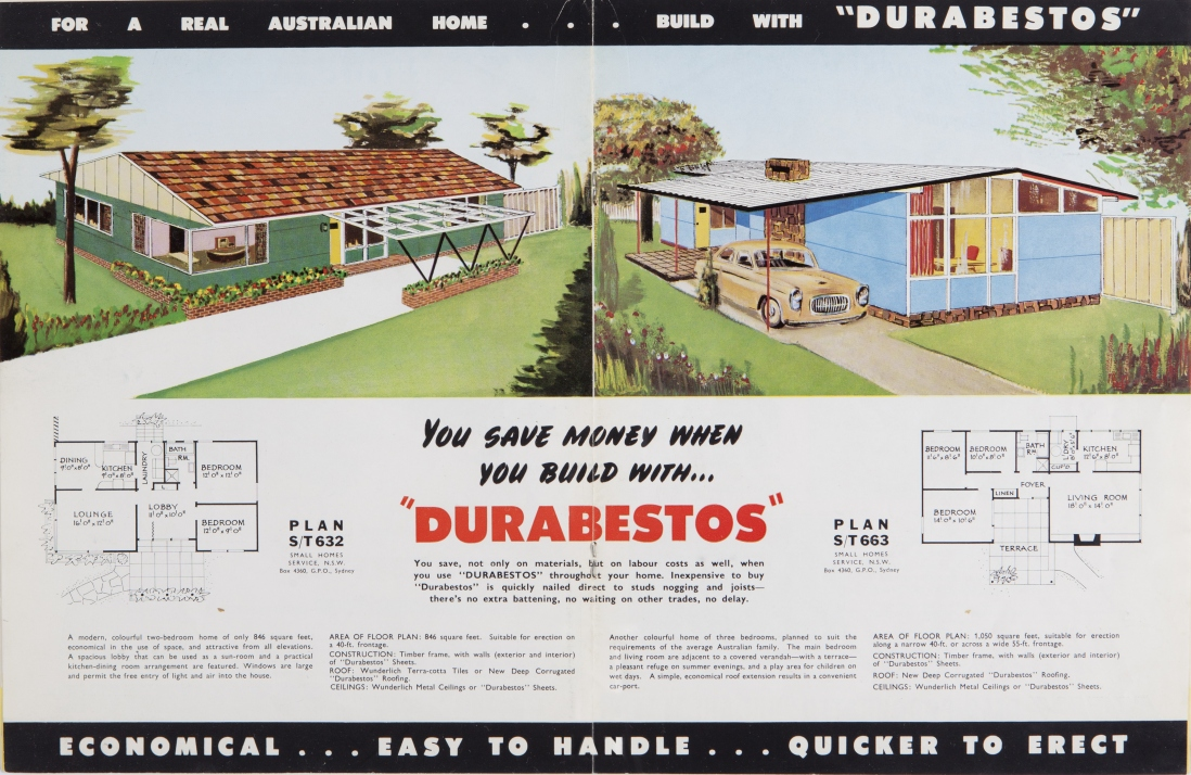 Post war Sydney Home Plans 1945 To 1959 Living