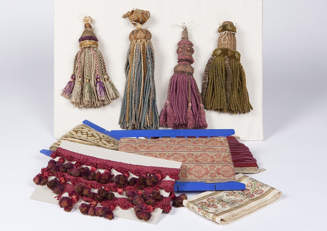 Tassels and braids, part of the Robert Lloyd collection