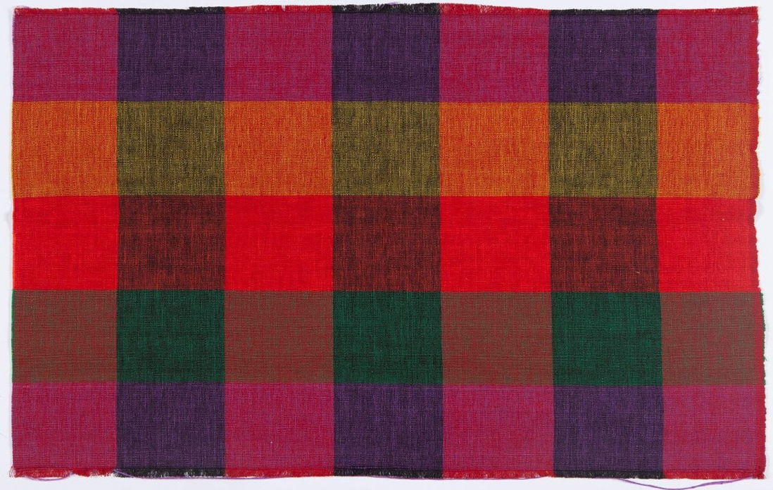Length of cotton textile, Webbing and Belting Factory Ltd, India, 1970s