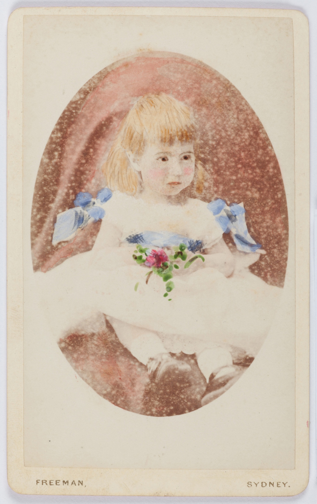 Carte de visite portrait of Nina Beatrice Terry, 1877-1879