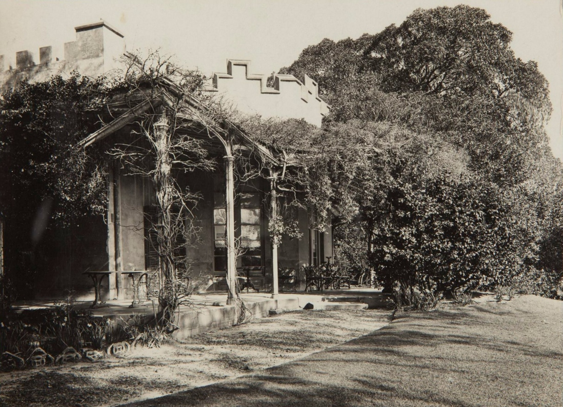 The front verandah at Vaucluse House