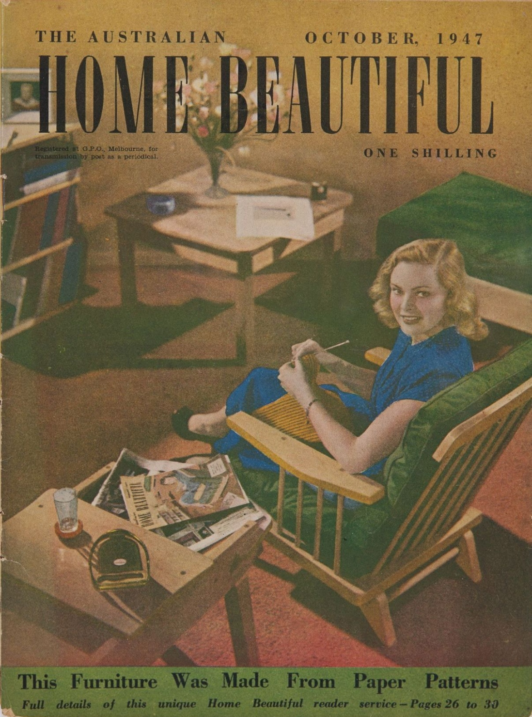 Australian Home Beautiful October 1947