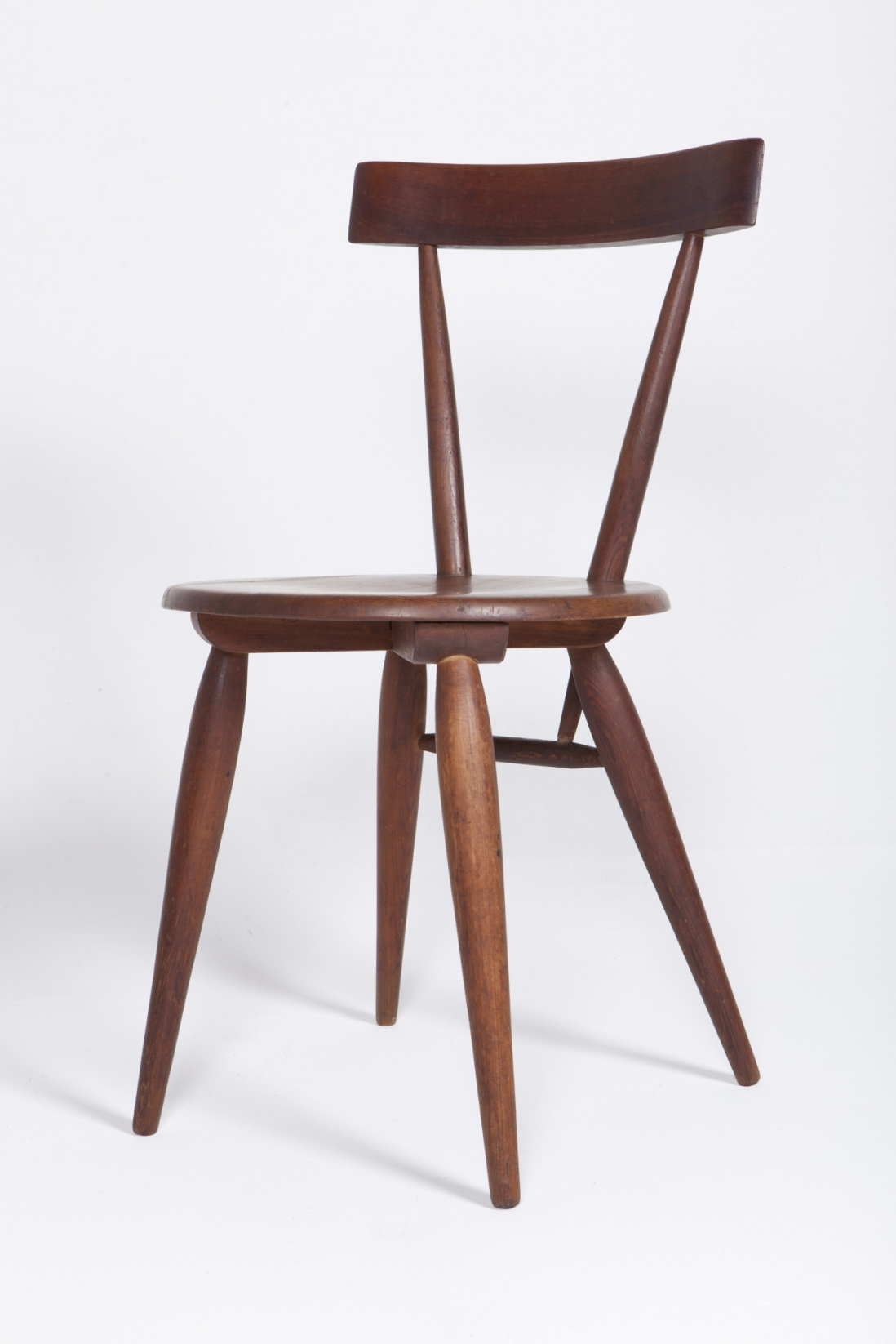 Side chair, side view