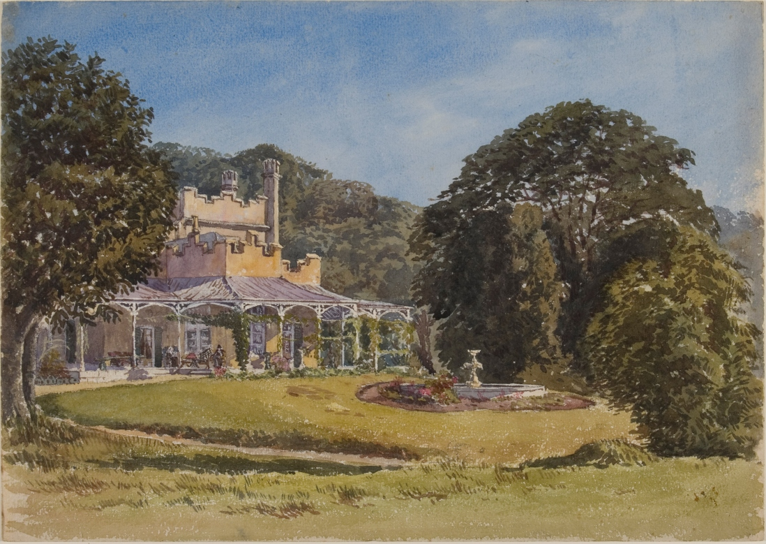 Vaucluse House, 12 September 1874