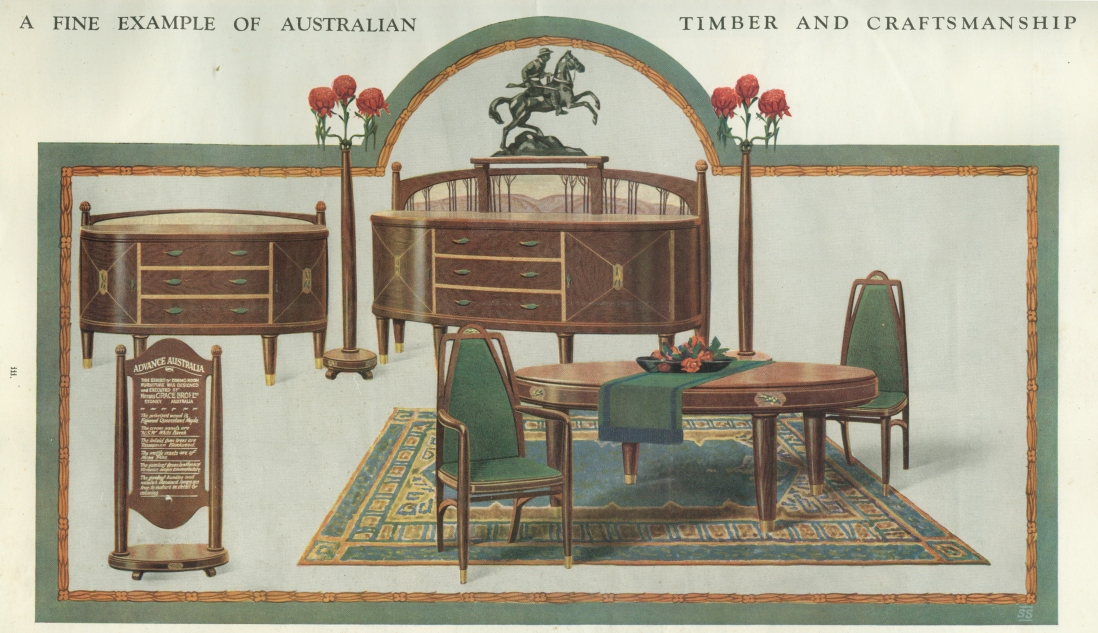 Grace Bros dining room suite