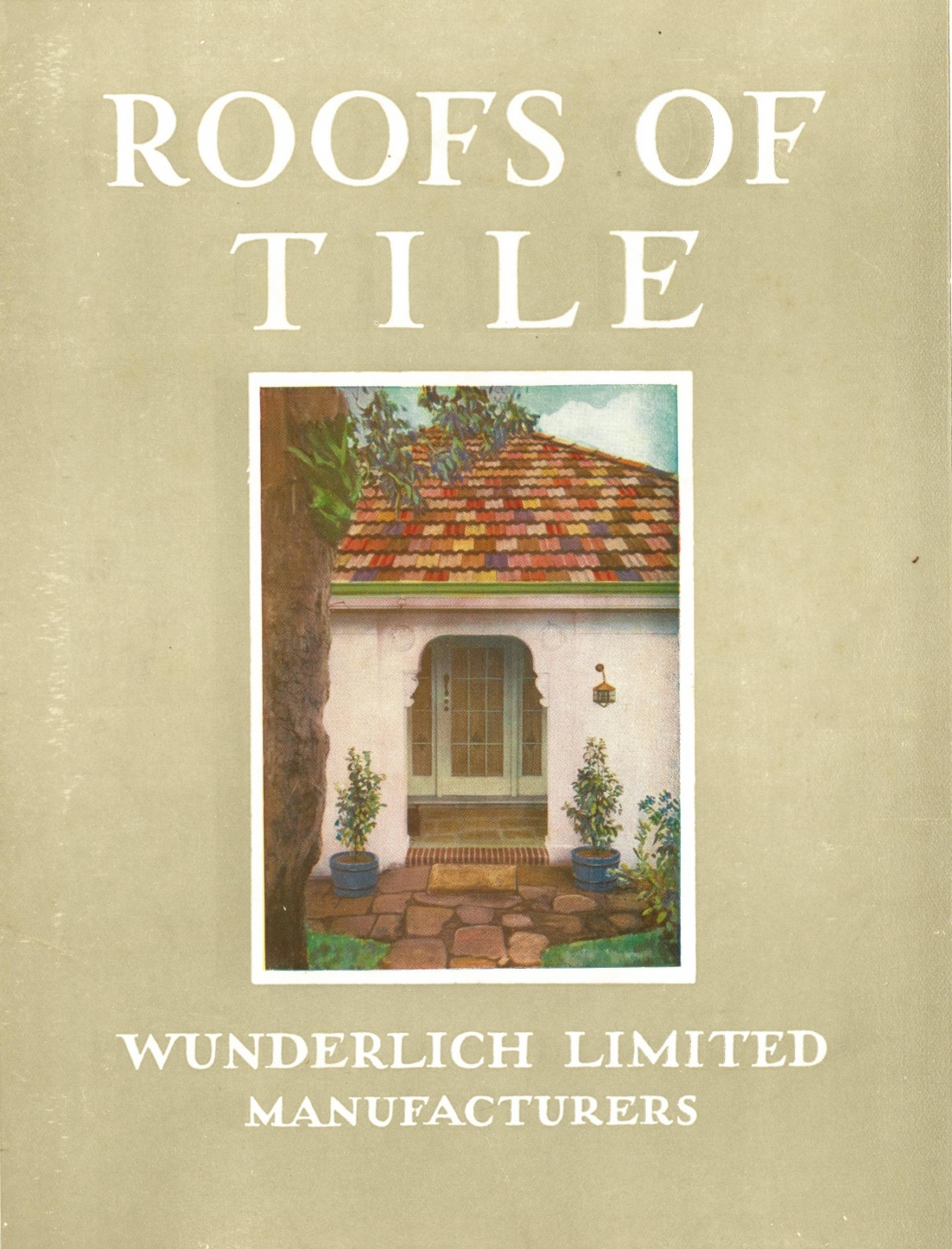 Wunderlich catalogue 1930