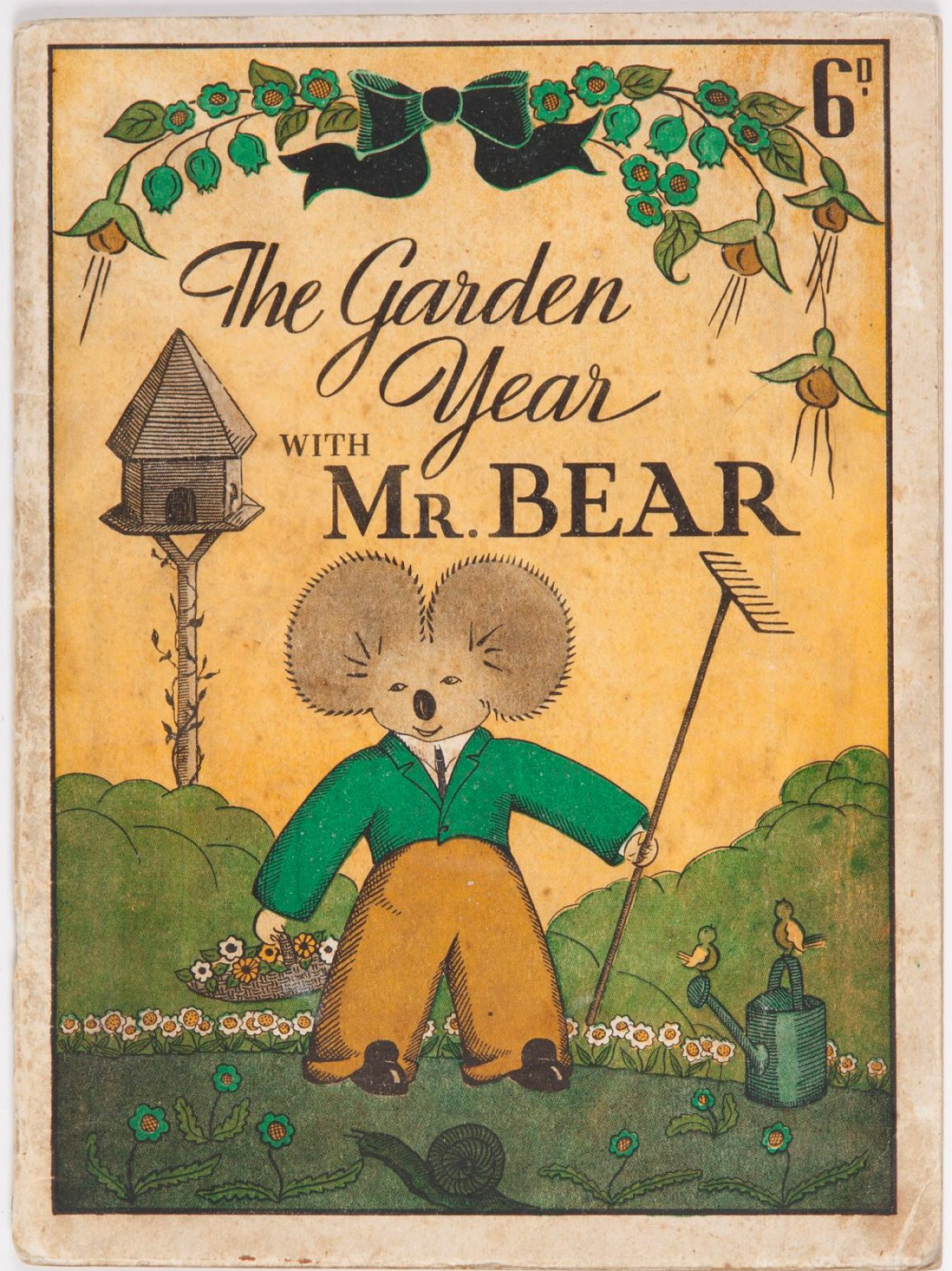 The garden year with Mr Bear