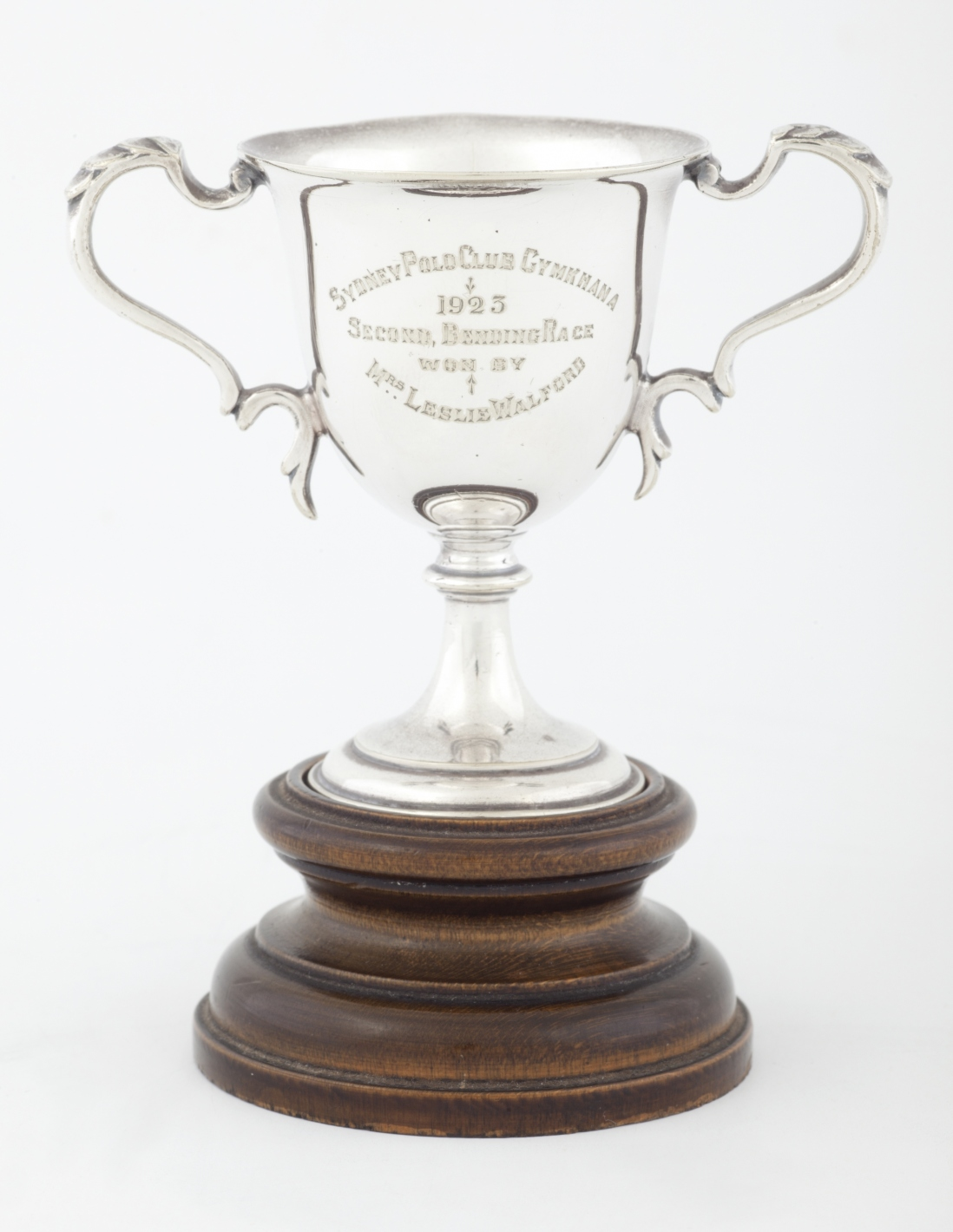 Trophy presented to Dora Walford
