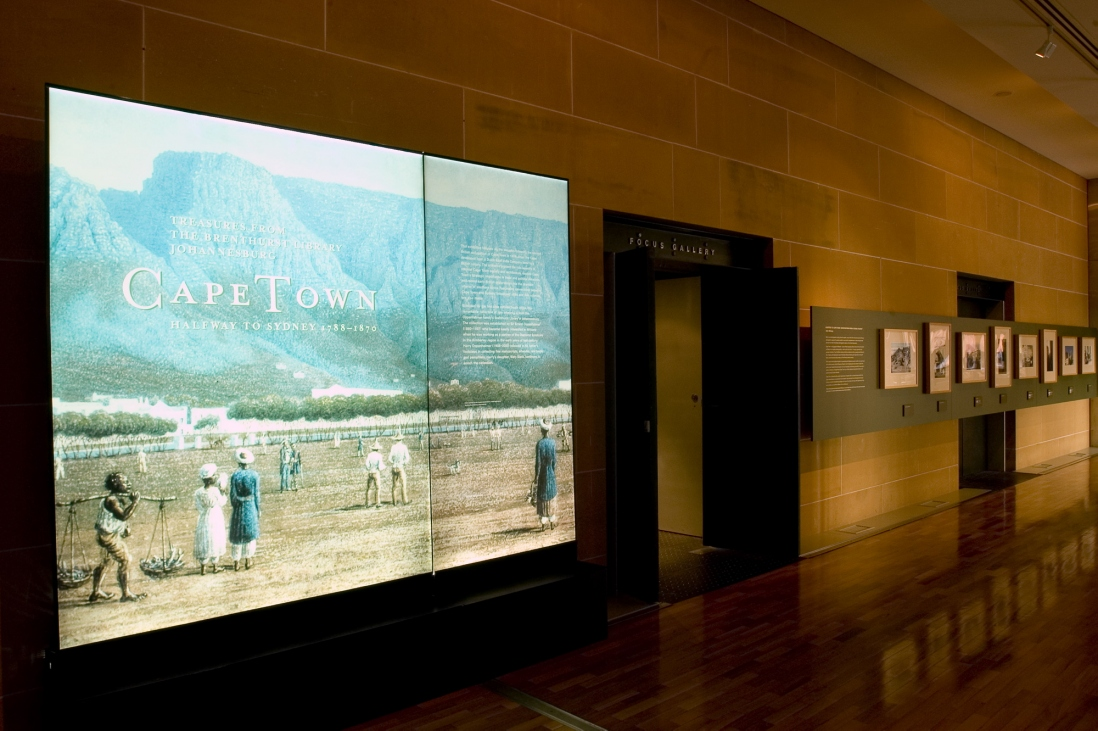Cape Town: halfway to Sydney 1788-1870 installation view