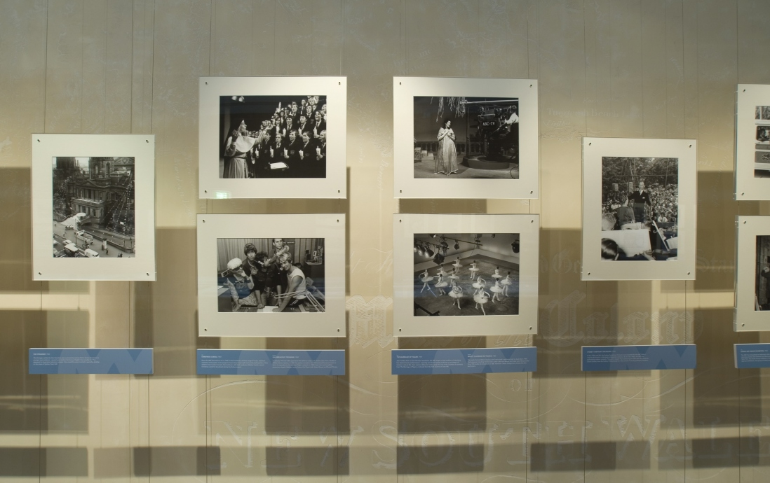 Broadcasting in Sydney: images from ABC archives installation view