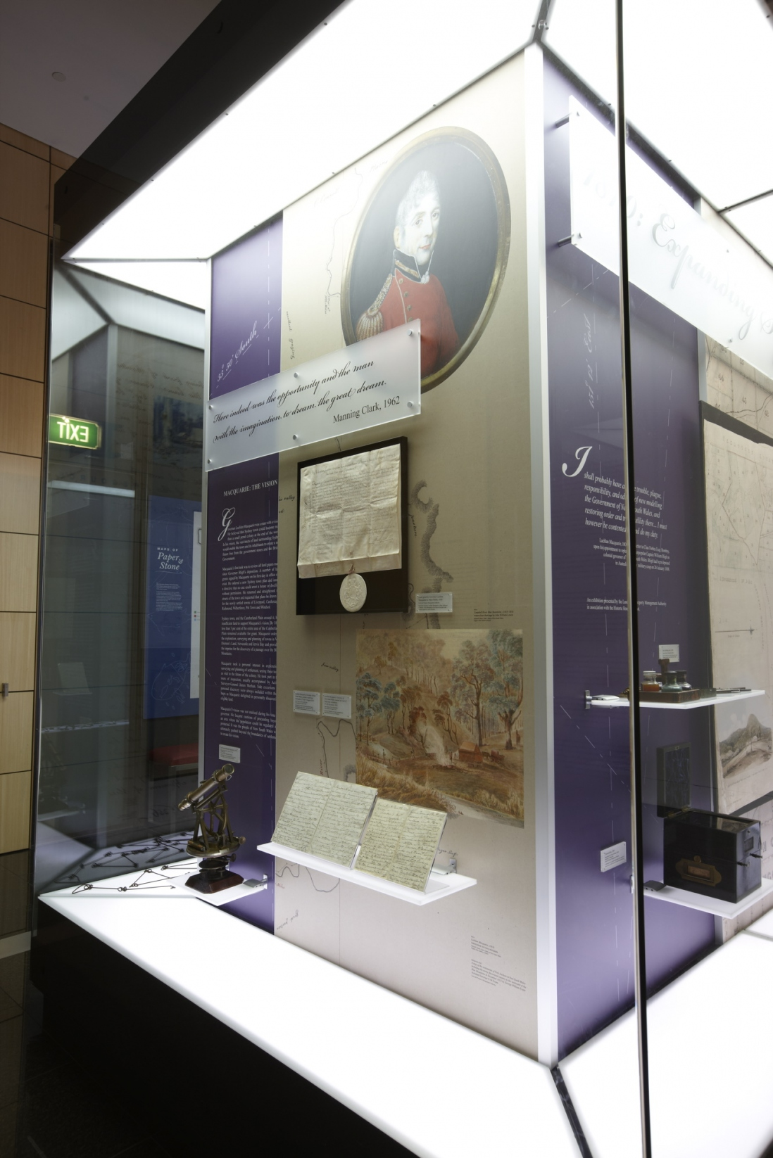1810: Expanding Sydney installation view
