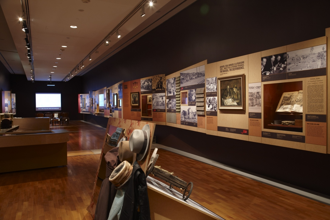 Skint! Making do in the Great Depression installation view