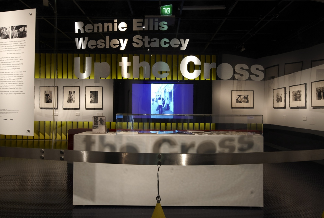 Up the Cross: Rennie Ellis & Wesley Stacey exhibition installation view