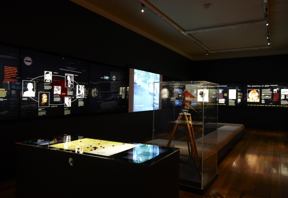Persons of interest: the ASIO files installation view