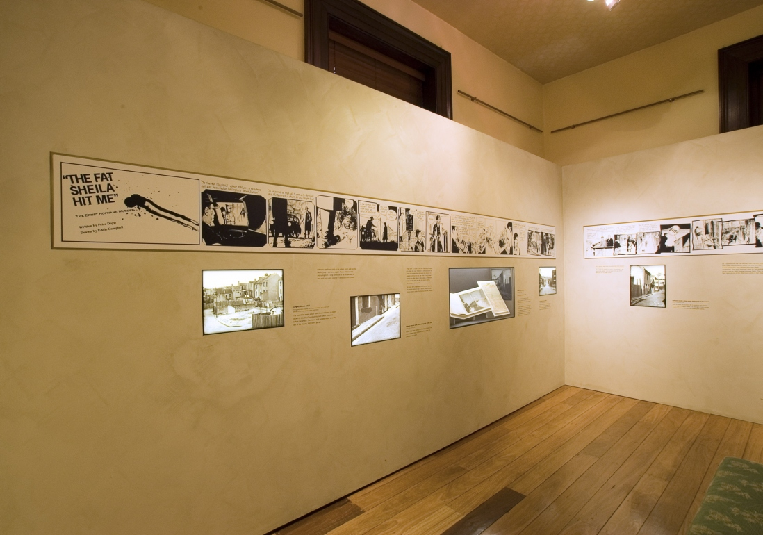 City of shadows installation view